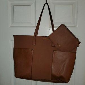 ALDO Faux Leather Tote